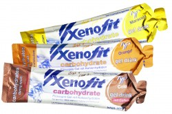 Richtige Ernährung ist das A und O für Freizeitsportler und Spitzenathleten - Xenofit carbohydrate gel drink