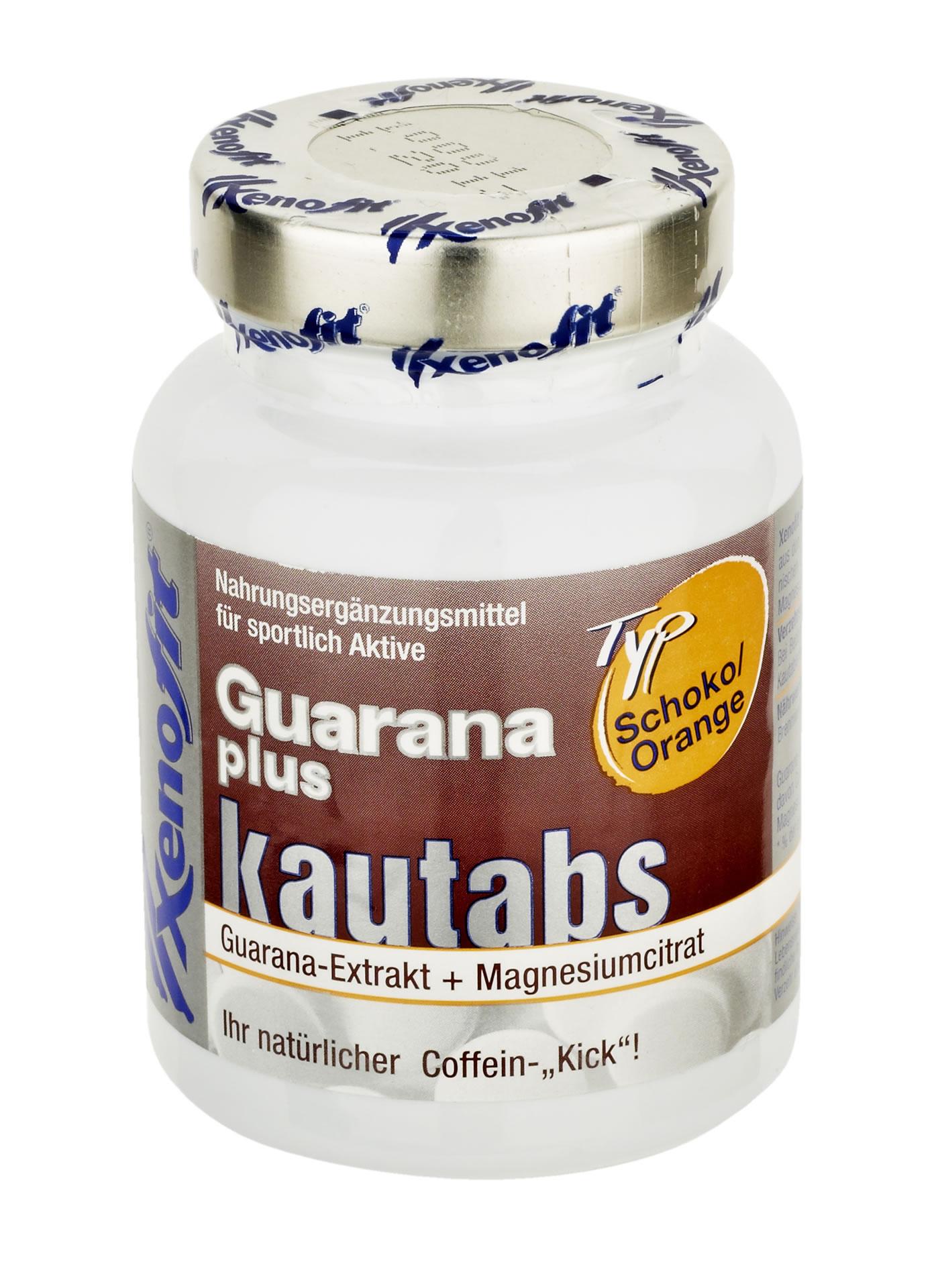 Xenofit Guarana - Eine Kautablette für den natürlichen Coffein-Kick